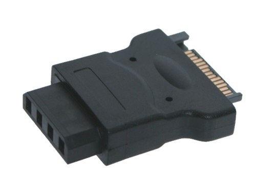 SATA 15-Pin Power to 4-Pin Molex Adapter from SATA to Molex