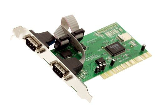 Dual Port RS-232 DB-9  PCI Cards 2 port