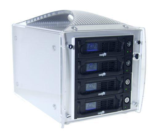 SATA II External EZ-Bay Portable 4-Sata Drive MultiLane Enclosure