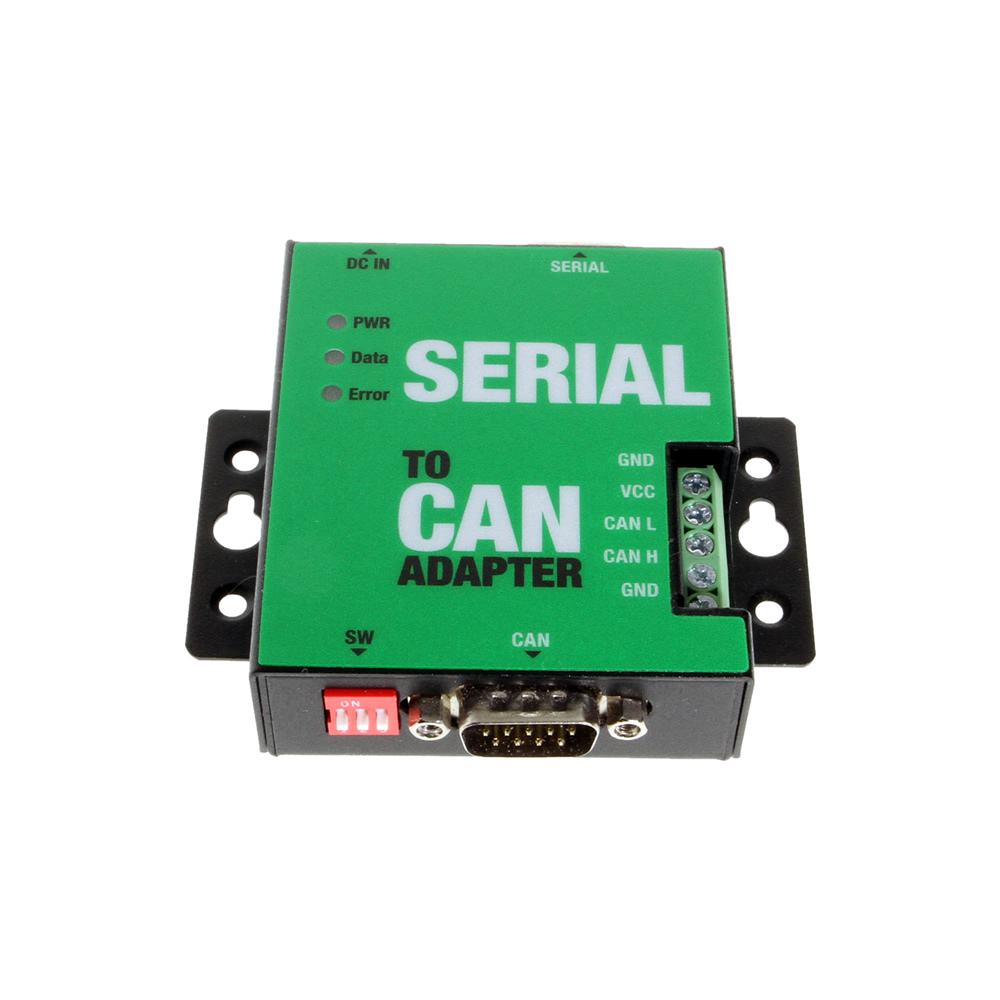 1 Port Serial RS232 to CAN Bus Adapter with Metal Case