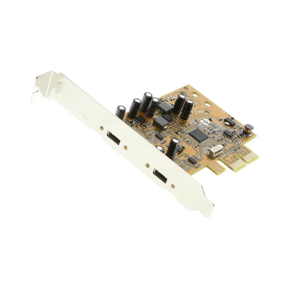 USB-C Adapter 2-Port USB 3.1 PCIe Card X2