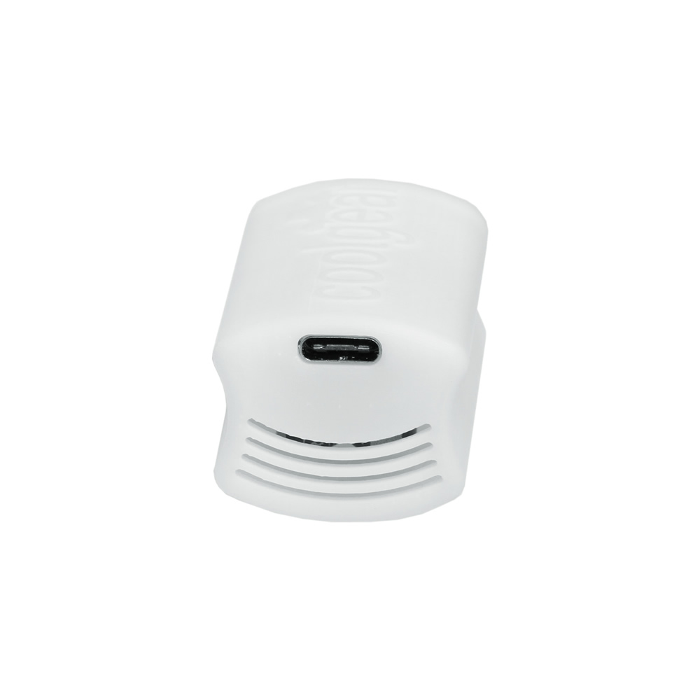 22W DC to USB-PD White Power Pod Adapter for Power Delivery 2.1MM Jack