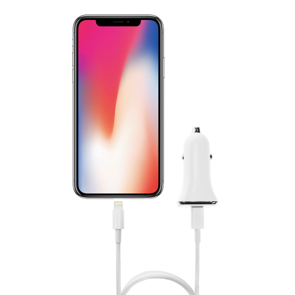 USB Type-C 27W Power Delivery Adapter for Apple Phones 8/8 Plus/iPhone X with Super Fast Charging White