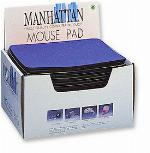 MH Mouse Pad Display Box 20 Pieces, Blue