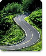 MH Designer Mouse Pad Winding Road