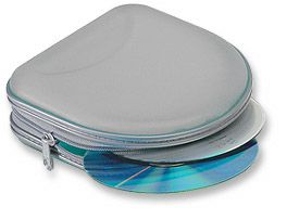 CD Carry Case 24 CD Capacity/Gray