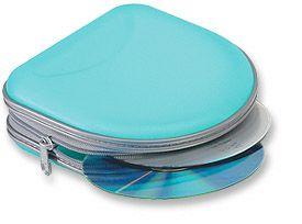 CD Carry Case 24 CD Capacity/Blue