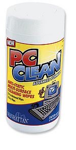 PC Clean Wet/Dry Wipes