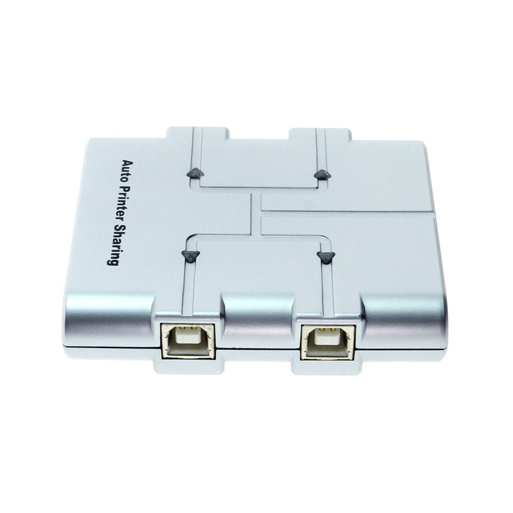 4-Port USB 2.0 Sharing Switch - Use 4 computers to 1 device