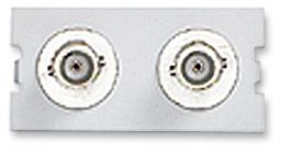 ICN Wall Plate System Dual BNC Module