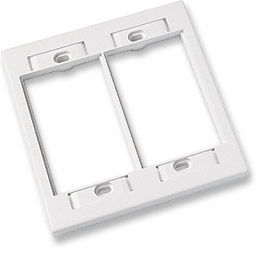 ICN Wall Plate System Double Gang Wall Plate