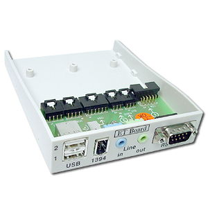 Front Access Bay for Sound / USB / 1394 / Serial