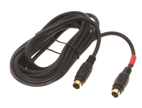 12ft. S-Video cable - Male 4 pin mini-DIN to M 4 pin mini-DIN Gold Plated