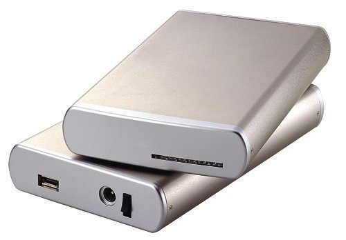 Aluminum External SATA II eSATA Drive Enclosure 3.5 for MAC and PC