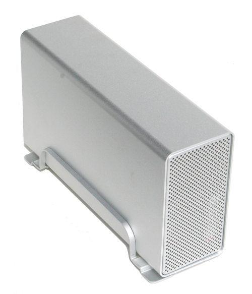 Plug-and-Play External Enclosure Supporting SATA and SATA II HDD
