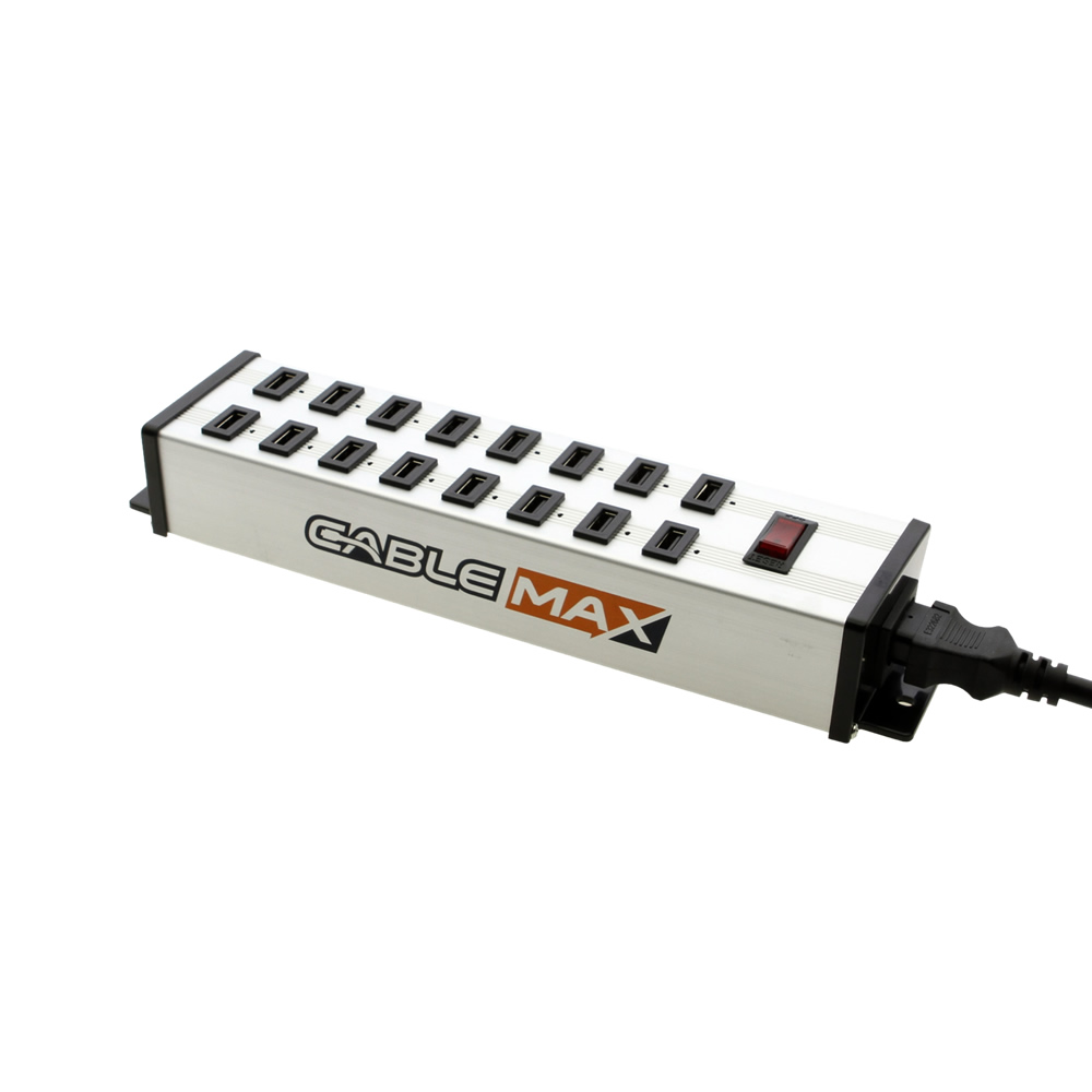 USB 16 Port Power Stip Charging Station 5V 2.4A Per Port