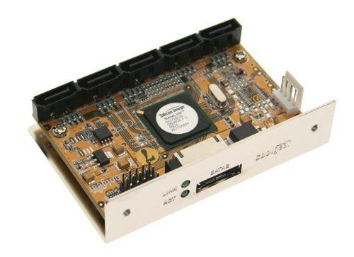 CoolGear SATA Port Multiplier Bridge Solution  SiI 3726