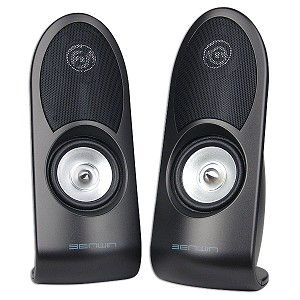 USB 2.0 Speakers Digital Sound with USB 2.0 Sound Card Built-in