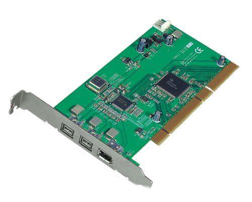 3-Port FireWire 800 1394b PCI Card 64/32 bit