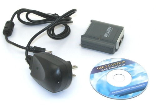USB 2.0 over IP Device Server Share any USB Device TCP/IP Network