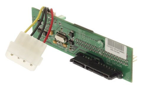 IDE-SATA04 is a Parallel ATA to Serial ATA Host mode Bridge Board featuring JMicron Serial ATA bridge Controller.