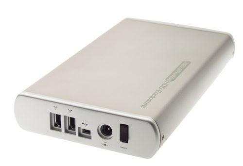 KOMODO Ultra-Slim Firewire + USB 2.0 Combo Aluminum Case for IDE ATA HDD