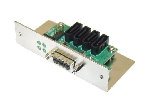 Multi-Lane SATA2 Enclosure SCSI-II Opening Device Bracket Sgl Bracket