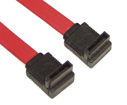 """4"""" SATA Device Cable Right to Right Angle"""