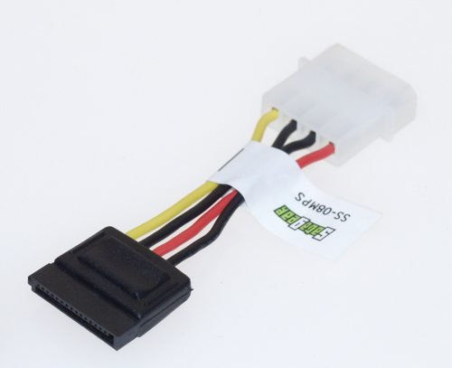 3 inch SATA Power cable, dongle 4 Pins to 15 pins IDC Type