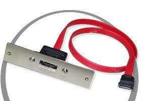 Serial ATA Signal Cable for SCSI Mount Centronnics Openning
