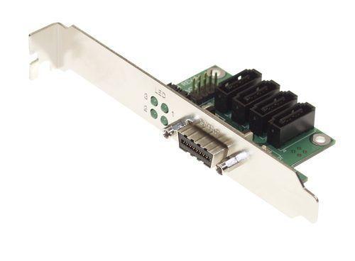 SATA-MULTILANE InfiniBand PCI Adapter SATA I and eSATA II