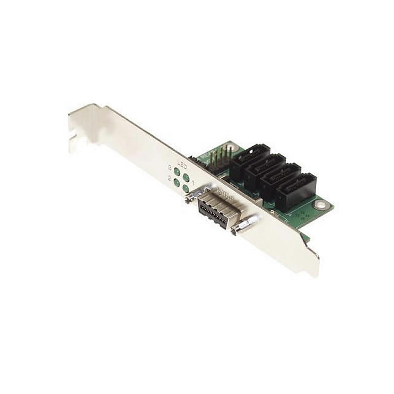 4-Channel SATA II MultiLane PCI Bracket