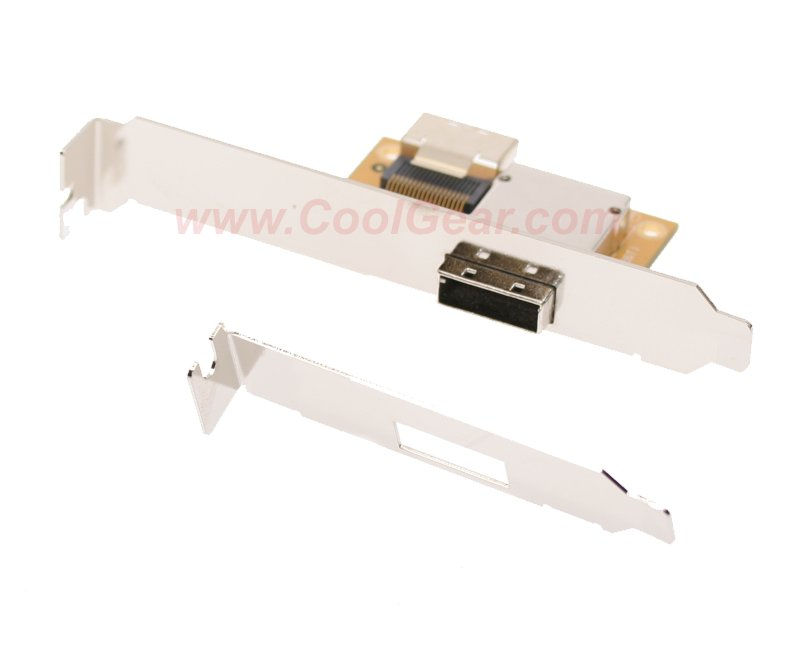 Mini SAS Host PCI Adapter Bracket SFF-8087-SFF-8088 36H-26T