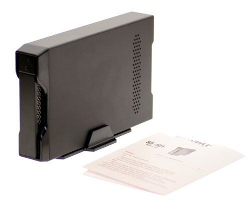 Native SATA drive Enclosure with USB 2.0 and eSATA Output, Aluminum Removable Tray