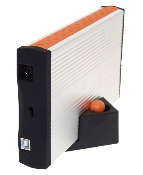 Native SATA drive Enclosure with USB 2.0 Output, Aluminum Case
