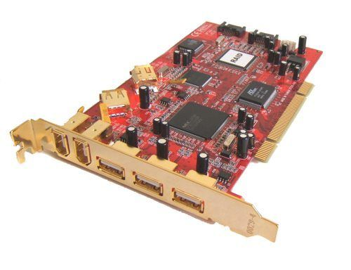 SATA RAID + USB 2.0 + 1394a 3-In-1 9 Port PCI Card