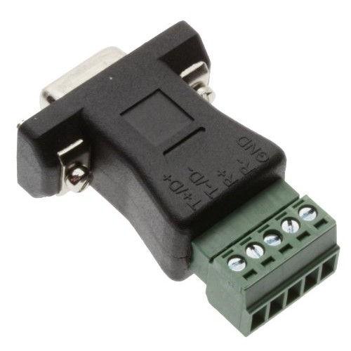 DB9 to Terminal Block 5 Pin Passive Adapter