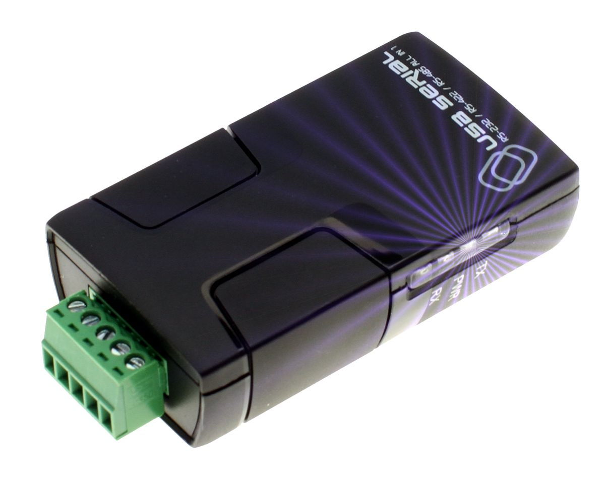 Pro Grade FTDI USB to RS-232 / RS-422 / RS-485 Adapter Selectable via Software