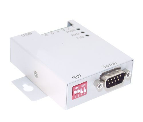 1-Port USB to RS-232 Selectable RS-422 or RS-485 Industrial Adapter