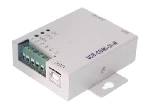 USB-COMi-SI-M USB-to-Optical isolated RS-422/485 Industrial Adapter