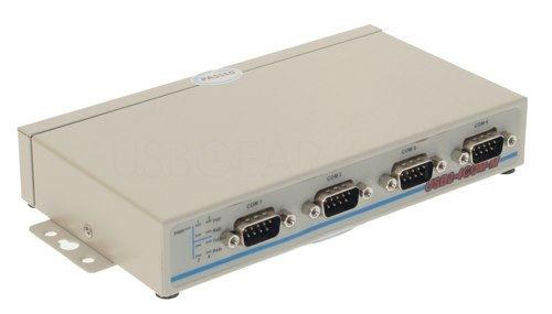 USB 2.0 Quad Port Serial RS-232 Adapter w/FTDI Vista Compatible