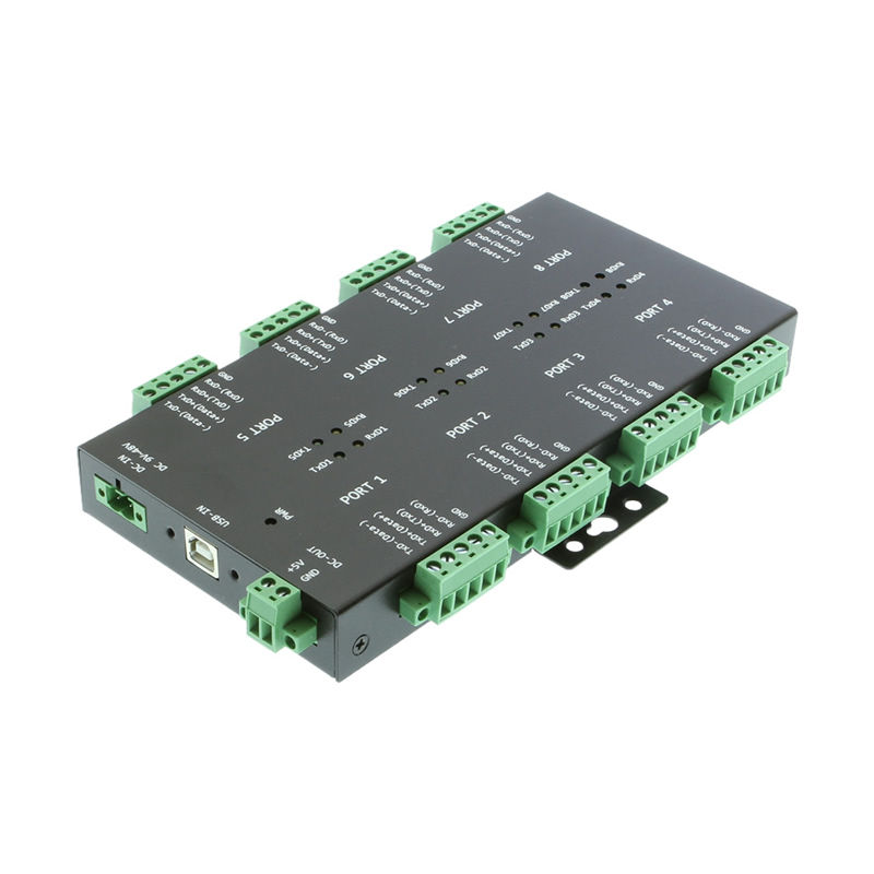 USB2 to 8-Port RS232-422-485 Serial TB Adapter