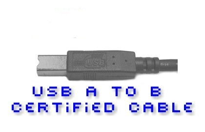 USB 2.0 Device Cable (A-B) 10 foot