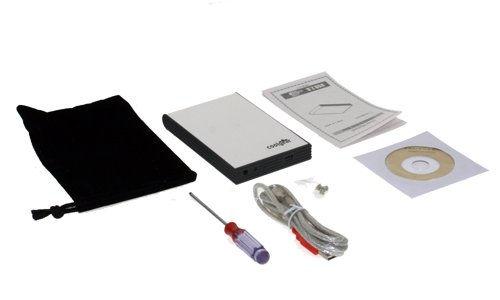 USB 2.0 Portable Mini Drive Enclosure Aluminum NEW 098