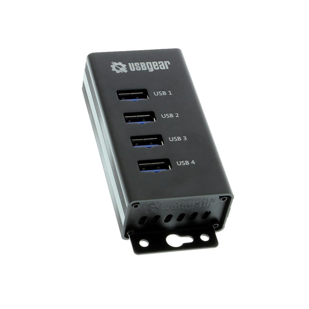 4-Port USB 3.0 Mountable Charging and Data Hub