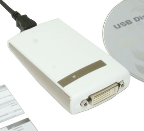 HD 1680 X 1050 DVI USB 2.0 External Graphics Card for XP and Vista and Windows 7