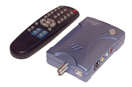 USB 2.0 TV Tuner Box and Video Capture Adapter for Windows 2000 and XP