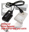 USB to SATA & IDE Bridge Adapter / Converter Cable for SATA and ATA IDE Hard Drives