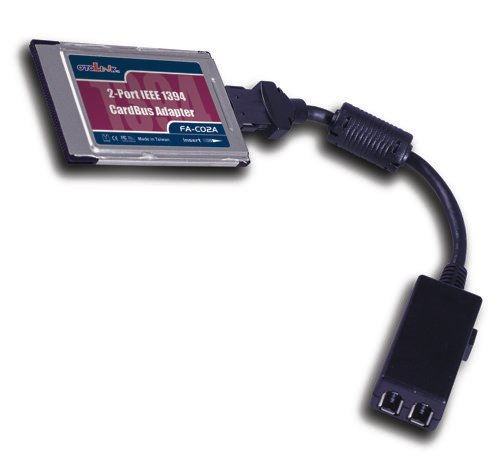 2- Port CARDBUS PCMCIA 1394-FireWire Adapter Dongle