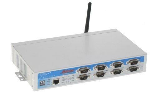 NetCom 823RM WLAN - WiFi - Ethernet server/ 8 RS232 / RS422 / RS485 serial ports